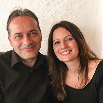 Monica Masi und Stefan Imoberdorf
